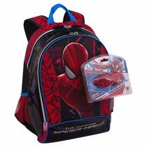 Mochila Escolar Infantil Costas Homem Aranha 63634 Spider G