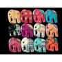 Dije De Elefante Ceramica Artesanal Collar Moda Bisutería