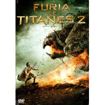 Dvd Furia De Titanes 2 ( Wrath Of The Titans ) - Liebesman