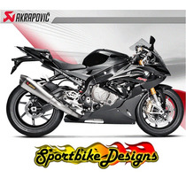 Escapamento Akrapovic Full Racing S1000rr 2015 - Pr Entrega