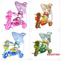 Triciclo Infantil C/capota 2x1! Música/luzes! Vira Gangorra!
