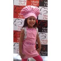 Gorros Para Niñ@s Mini Chef En Drill
