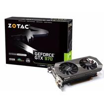 Placa Vídeo Geforce Gtx 970 4gb 256 Bits Zotac*