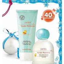 Perfume De Bebe Tender Moments Jafra Locion Crema Shampoo