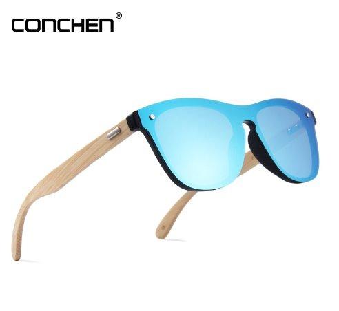 ab951f227d6ec Óculos Sol Masculino Feminino Espelhado Proteção Uv + Brinde - R ...