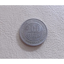 Moeda 200 Réis - Cupro-níquel - Republica - 1889 - Mbc