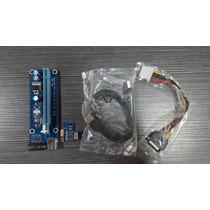 Riser Usb 3.0 Version: 006+regulador De Voltaje Garantizados
