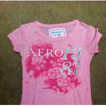 Camiseta Blusa Aero Rosa/ Hco Hollister A E F Nike Adidas Ck