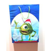 Bolsa De Regalo Grande De Monsters Inc Disney Navidad