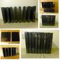 Carpetas 3 Aros Negras 1 Pulgada Con Protector Plastic