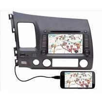 Kit Central Multimidia Tv Dvd Honda Civic 07-11