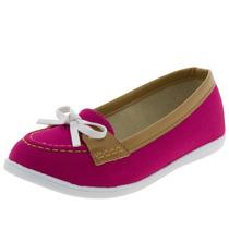 Mocassim Infantil Feminino Pink/caramelo - 2160100 Moleki