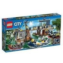 Lego City Delegacia De Polícia Do Pântano 60069 - 707 Pçs...