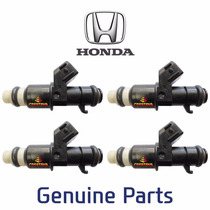 4 Bico Injetor Honda New Civic 1.8 16v Flex 8 Furos Crestana