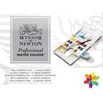 Set Acuarelas Profesionales Winsor & Newton 14p Barrio Norte