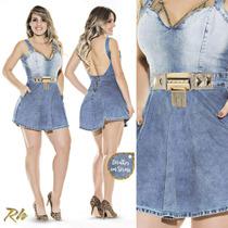 Vestido Jeans Rhero Original Estilo Pitbull