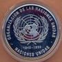 Moneda Conmemorativa De 500 De La Onu.