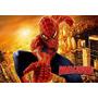 Painel Infantil Aniversário Homem Aranha 1,45x0,90m,tecido