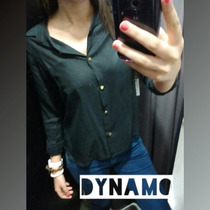 Camisa Lisa Negro (varios Colores Y Talles) Ropa Mujer