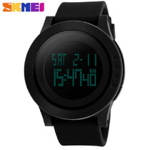 Relógio Led Digital Skmei Black