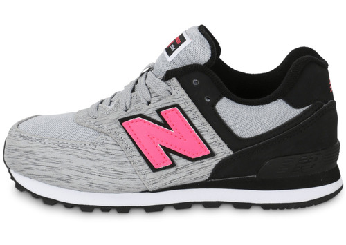 new balance gris rosa mujer