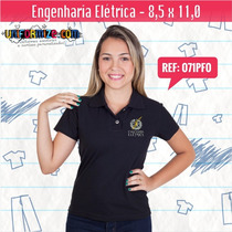 Camisa Gola Polo - Engenharia Elétrica - 8,5 X 11,0