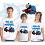 Lembrança De Aniversario Thomas E Seus Amigos Camiseta Com 3