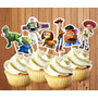 Toppers Para Cupcakes Toy Story Candybar Cotillon