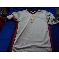 Camiseta Vieja Gris Barcelona Xl Orig Consult Stock
