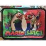Cartuchera 2 Pisos Personalizada Mario Bros Luigi