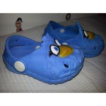 Sandália Infantil Crocs Galinha Pintadinha Azul Promoção