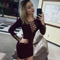Vestidos Visco Lycra Tamanho Único
