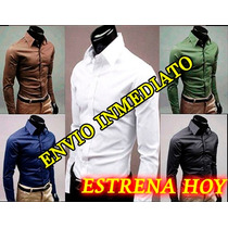 Camisas Vestir Caballero, Camisa Slim Fit Formal