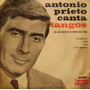 Antonio Prieto Canta Tangos Vinilo Ep Doble Rarisimo