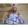 Super Fantasia Enfermeira Colete Chapeu Termo Bandaid