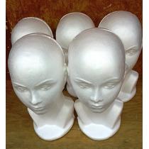 Busto, Cabeza De Unicel, Exhibidor, Maniquí Con Enviogratis