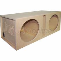 Cajón Dbox Para Woofers De 12 Pulgadas 2x12sp Spl