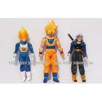 Figura Dragon Ball Z Articulada Goku Vegeta Trunks Barato