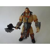 Warcraft Durotan Señor Del Clan Lobo Gélido Juguete Bootleg