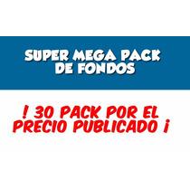 Super Mega Pack Fondos, Clipart, Kit Imprimibles, Fiesta