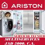 Servicio Técnico Autorizado Ariston Nevera Lavadora Secadora