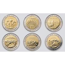 Argentina, Set 5 Monedas Bicentenario 1810 - 2010 - Sc