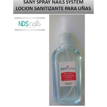 Sany Spray O Locion Sanitizante Para Uñas Nails System