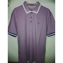 Camisa Polo Fórum Masculina Lilás Nova Coleção - Linda Tm G