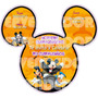 Tarjetas De Invitacion Mickey Mouse Halloween - Invitaciones