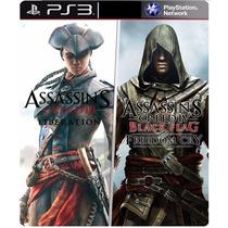 Assassins Creed Liberation Hd + Fredon Cry Ps3 Psn