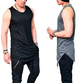 29c8de1e94177 Regata Masculina Camiseta Camisa Longline Oversized Swag - R  49