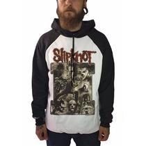 Blusa Masculina Frio Bandas Rock Metal Slipknot