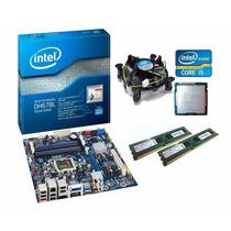 Kit Placa Mãe Intel Processador I5 3470 Memória 8gb Ddr3