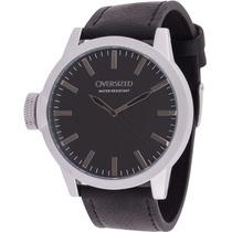 Relógio De Pulso Social Oversized Wall Street 49mm (black)